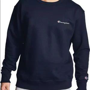 Champion French Terry Crew Sweatshirt